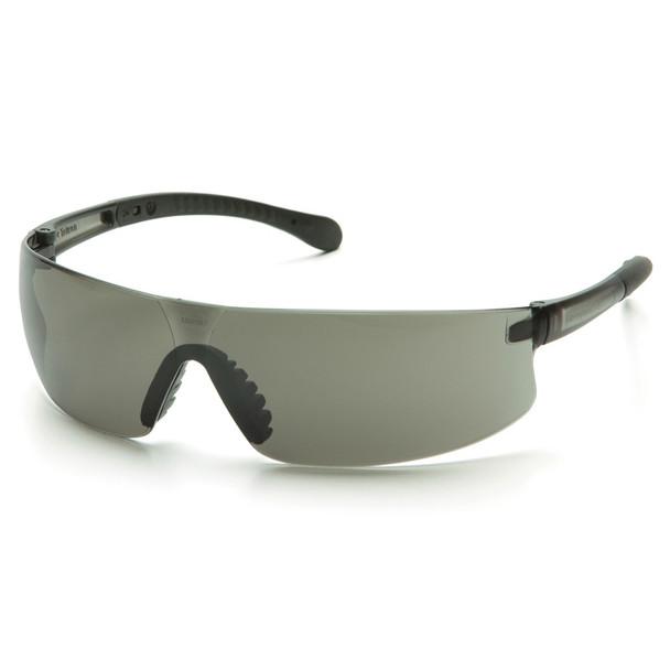 Box of 12 Pyramex Provoq Gray Lens Safety Glasses S7220S Side