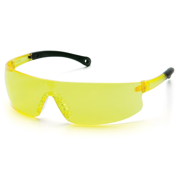 Pyramex Safety Glasses Provoq Amber - Box Of 12 S7230S