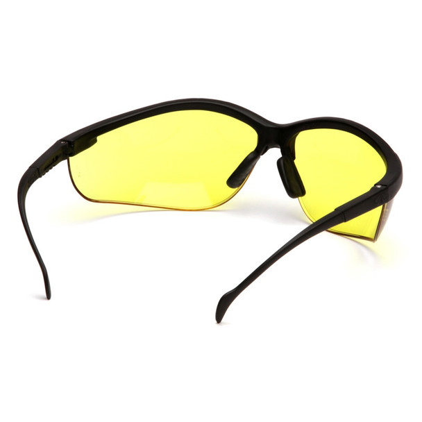 Pyramex Safety Glasses Amber Venture II - Scratch Resistant Polycarbonate Lens - Box Of 12
