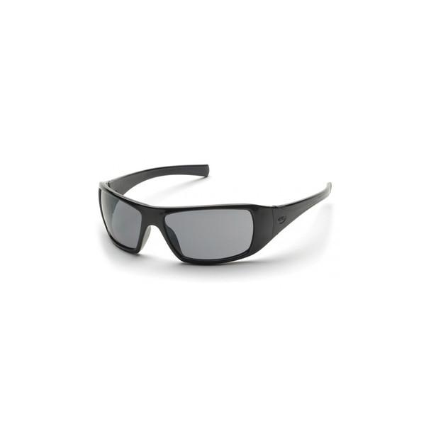 Box of 6 Pyramex Goliath Polarized Gray Lens Safety Glasses SB5621D
