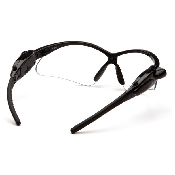 SB6310SPLED Pyramex Safety Glasses PMXTREME Clear Lens with LED Temples