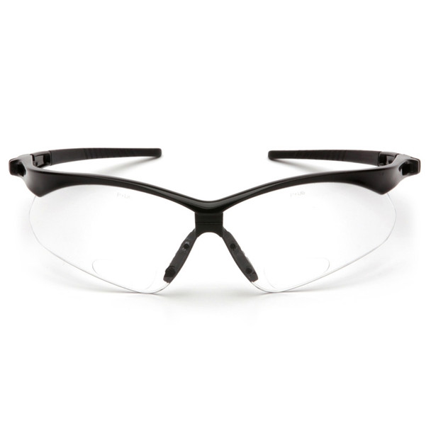 Pyramex Safety Glasses PMXTREME READERS Clear + 2.0 with Cord
