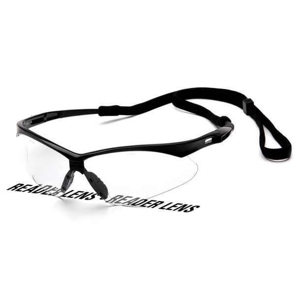 Pyramex Safety Glasses PMXTREME READERS Clear + 2.5 with Cord