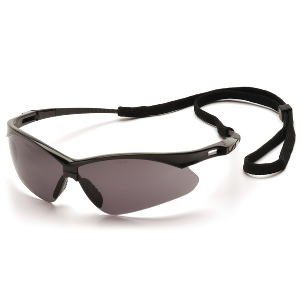 Pyramex Safety Glasses PMXTREME Gray with Cord - Box Of 12 - SB6320SP