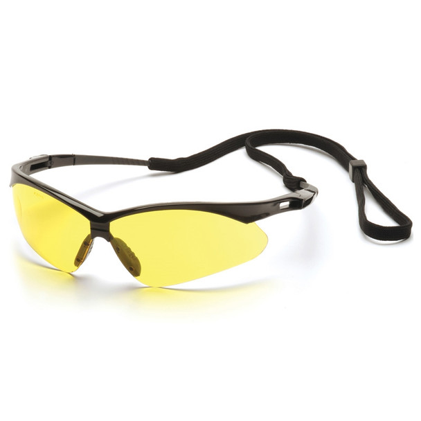 SB6330SP Pyramex Safety Glasses PMXTREME Amber with Cord - Box Of 12