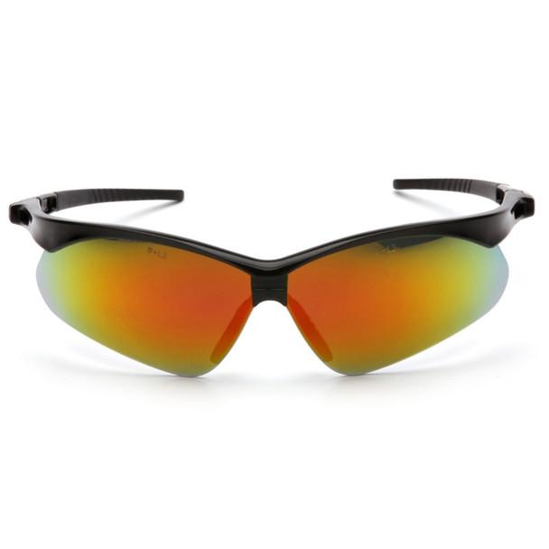 SB6345SP Pyramex Safety Glasses PMXTREME Ice Orange Mirror with Cord - Box Of 12