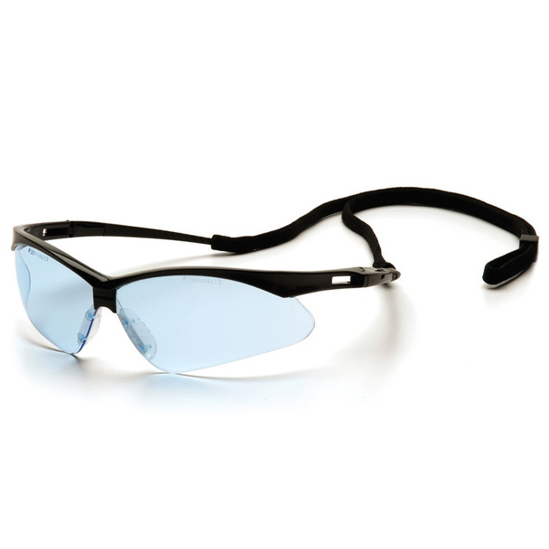 SB6360SP Pyramex Safety Glasses PMXTREME Infinity Blue with Cord - Box Of 12