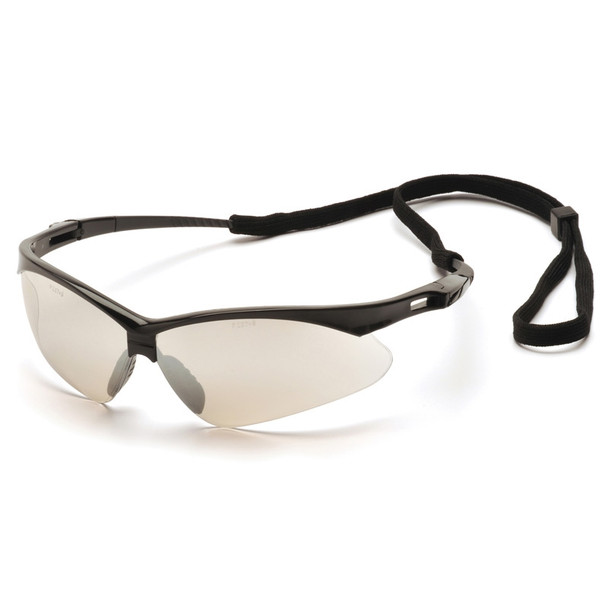 SB6380SP Pyramex Safety Glasses PMXTREME Indoor-Outdoor Mirror with Cord - Box Of 12