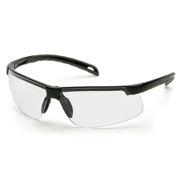 SB8610DT Safety Glasses Ever-Lite Clear Anti-Fog, Black Frame - Box Of 12