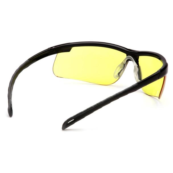 SB8623D Safety Glasses Ever-Lite Dark Gray, Black Frame - Box Of 12