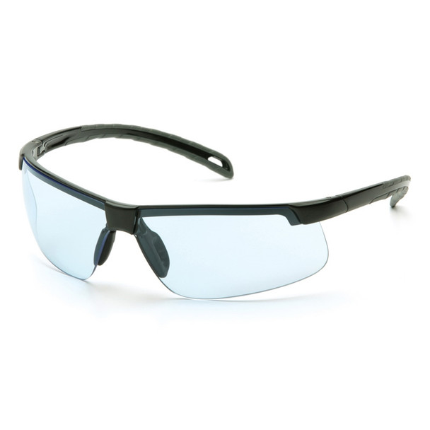 Safety Glasses Ever-Lite Infinity Blue Black Frame - Box Of 12
