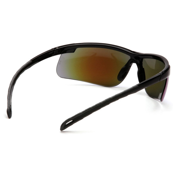 Box of 12 Pyramex Ever-Lite Ice Blue Mirror Lens Safety Glasses SB8665D Rear