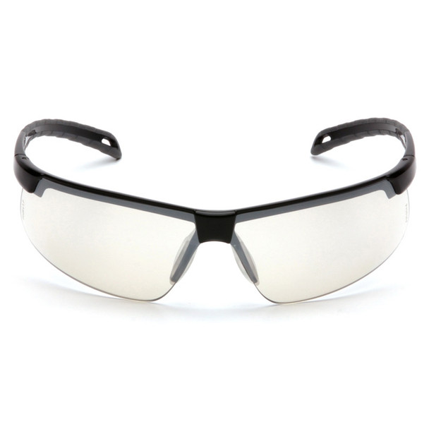 Box of 12 Pyramex Ever-Lite Indoor-Outdoor Mirror Lens Safety Glasses SB8680D Front