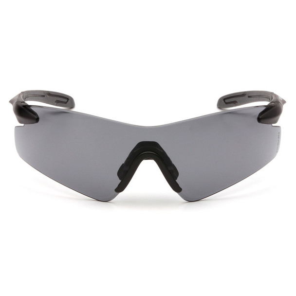 Box of 12 Pyramex Intrepid II Gray Lens Safety Glasses SB8820S Front