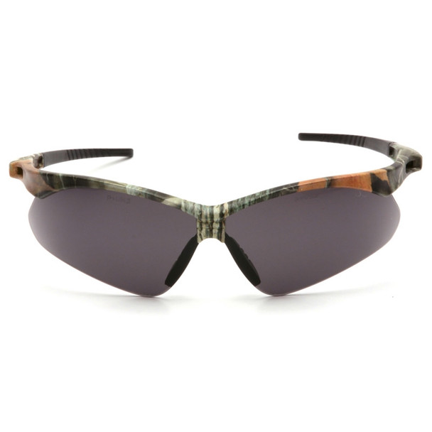 Box of 12 Pyramex PMXTREME Anti-Fog Gray Lens Safety Glasses with Cord SCM6320STP Front