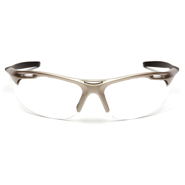 Box of 12 Pyramex Avante Clear Lens Safety Glasses SGM4510D Front