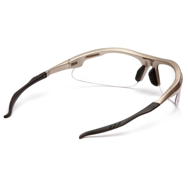 Box of 12 Pyramex Avante Clear Lens Safety Glasses SGM4510D Rear