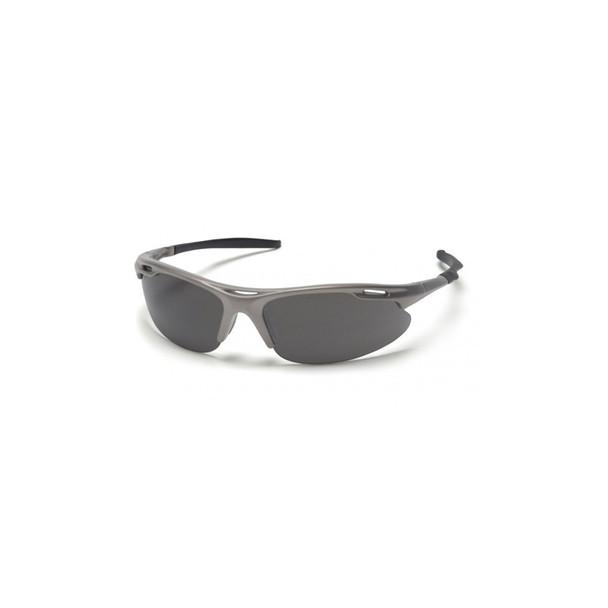Box of 12 Pyramex Avante Gray Lens Safety Glasses SGM4520D Side