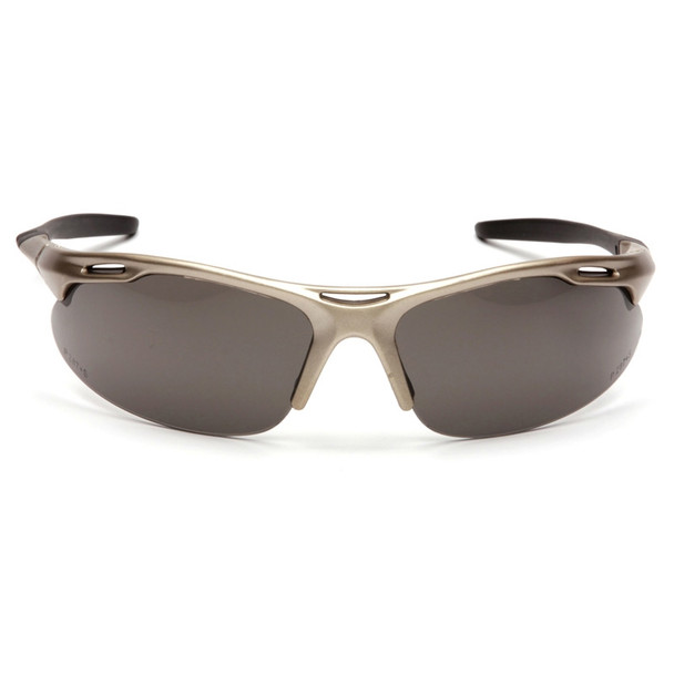 Box of 12 Pyramex Avante Gray Lens Safety Glasses SGM4520D Front