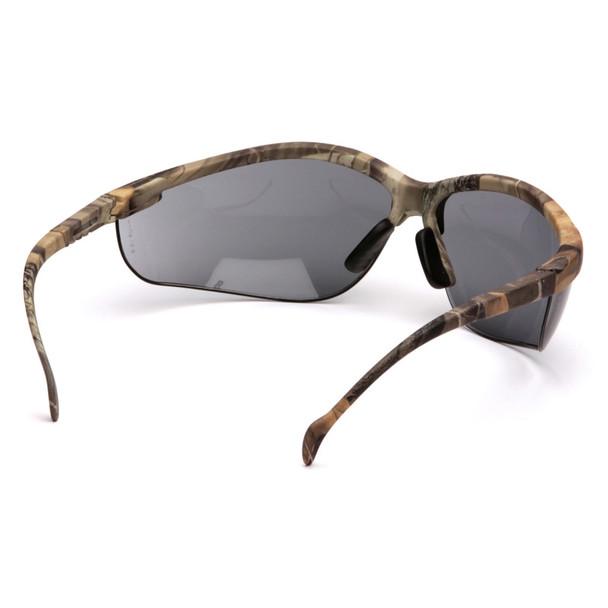 Box of 12 Pyramex Venture II Gray  Lens Safety Glasses SH1820S Rear