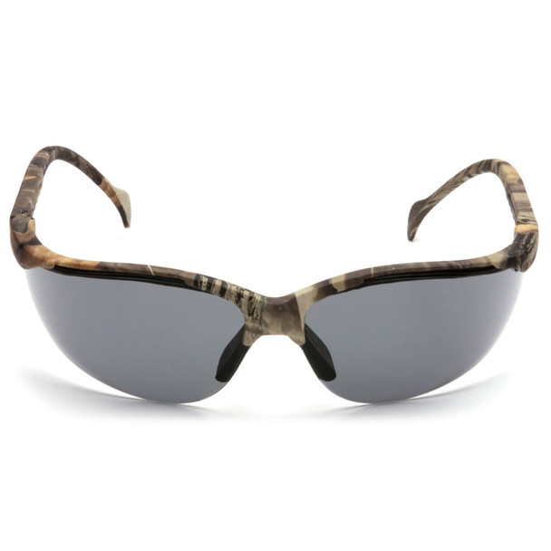 Box of 12 Pyramex Venture II Gray  Lens Safety Glasses SH1820S Front