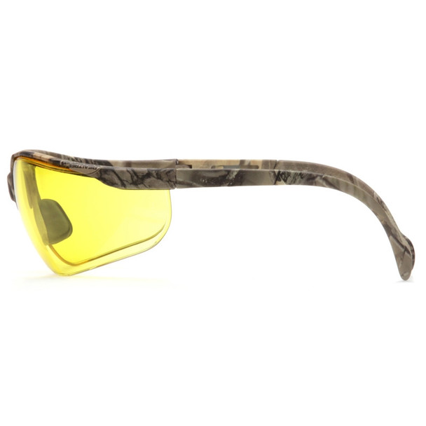 Box of 12 Pyramex Venture II Amber Lens Safety Glasses SH1830S Profile