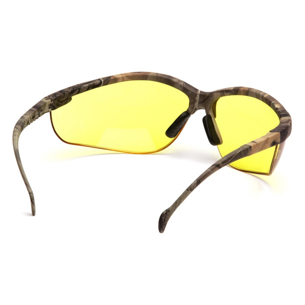 Box of 12 Pyramex Venture II Amber Lens Safety Glasses SH1830S Rear