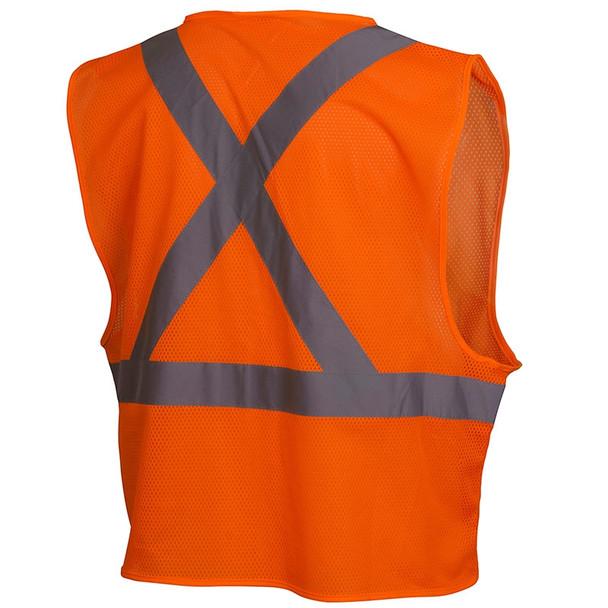 Class 2 Orange X-Back Safety Vest RCZ2120