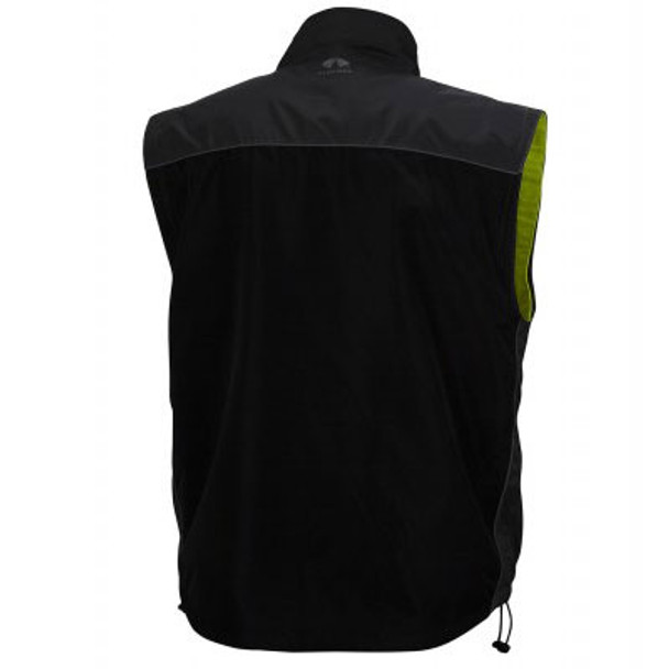 Pyramex Class 3 Hi Vis Lime Weather Resistant 4-in-1 Reversible Jacket with Zip Off Sleeves RJR3410 Interior Vest Back