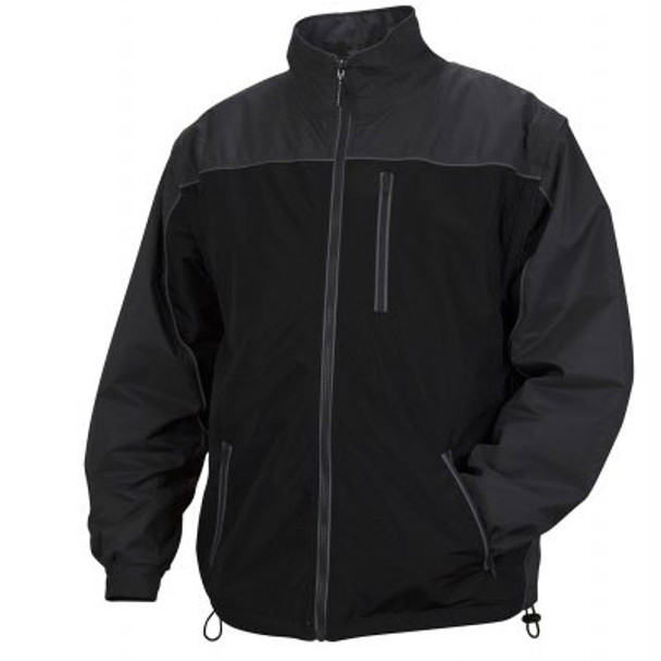 Pyramex Class 3 Hi Vis Lime Weather Resistant 4-in-1 Reversible Jacket with Zip Off Sleeves RJR3410 Interior Jacket Front