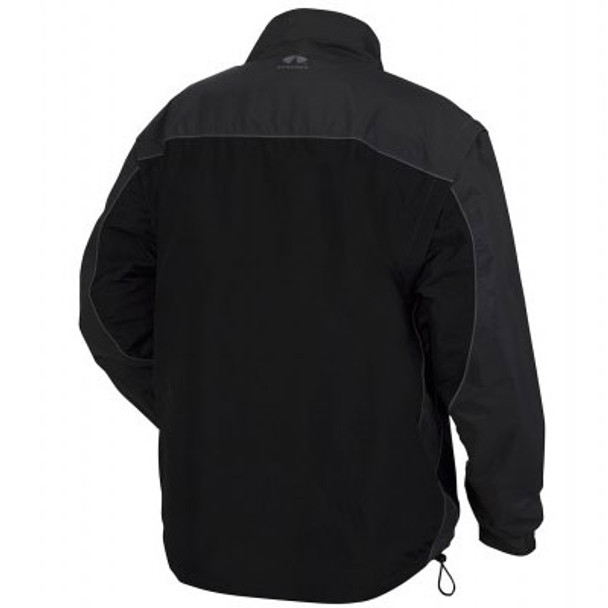 Pyramex Class 3 Hi Vis Lime Weather Resistant 4-in-1 Reversible Jacket with Zip Off Sleeves RJR3410 Interior Jacket Back