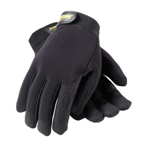 PIP Case of 72 Pair Maximum Safety Professional Mechanics Work Gloves 120-MX2805 Top