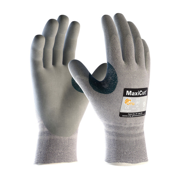 PIP Box of 72 Pair A4 MaxiCut Dyneema Safety Gloves with Nitrile Grip 19-D470