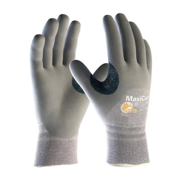 PIP Box of 72 Pair A4 MaxiCut Dry Dyneema Nitrile Grip Safety Gloves 19-D475