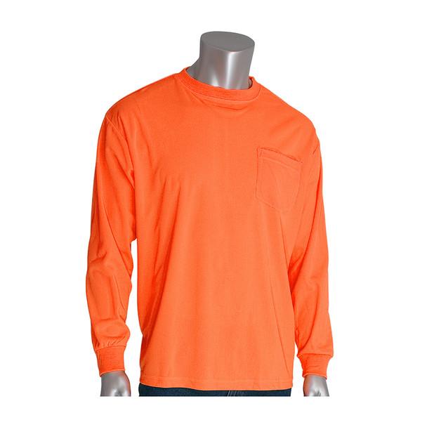 PIP Non-ANSI Hi Vis Long Sleeve T-Shirt 310-1100