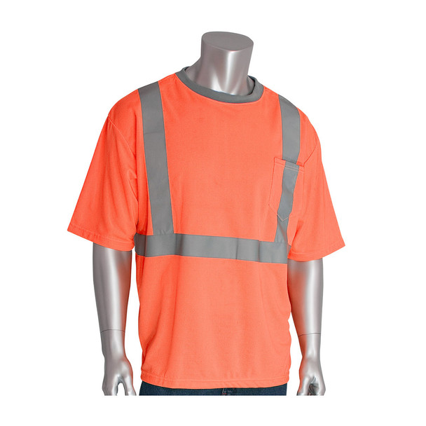 PIP Class 2 Hi Vis Short Sleeve T-Shirt 312-1200 Orange