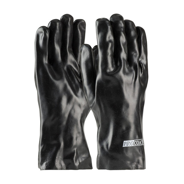 PIP Box of 120 Pair A1 Cut Level ProCoat PVC Dipped Safety Gloves with Interlock Liner 58-8030 Pair