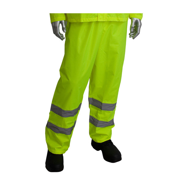 PIP Class 3 Hi Vis Two-Piece Rainsuit 353-1000 Yellow Pants