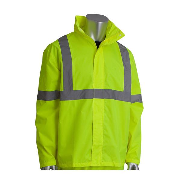 PIP Class 3 Hi Vis Two-Piece Rainsuit 353-1000 Yellow Jacket