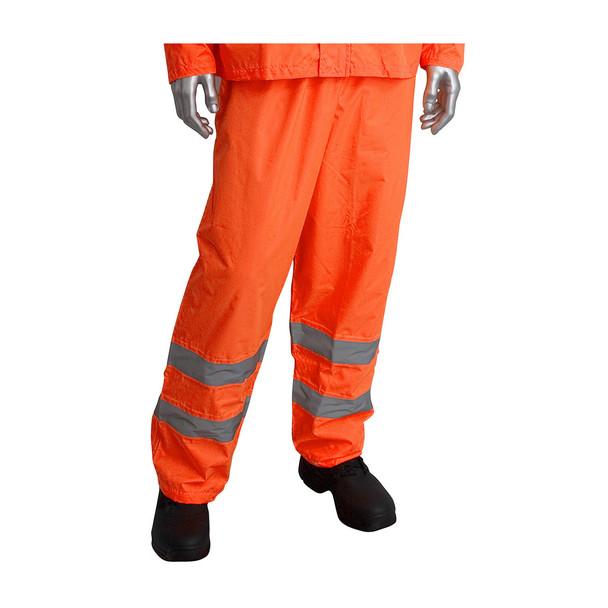 PIP Class 3 Hi Vis Two-Piece Rainsuit 353-1000 Orange Pants
