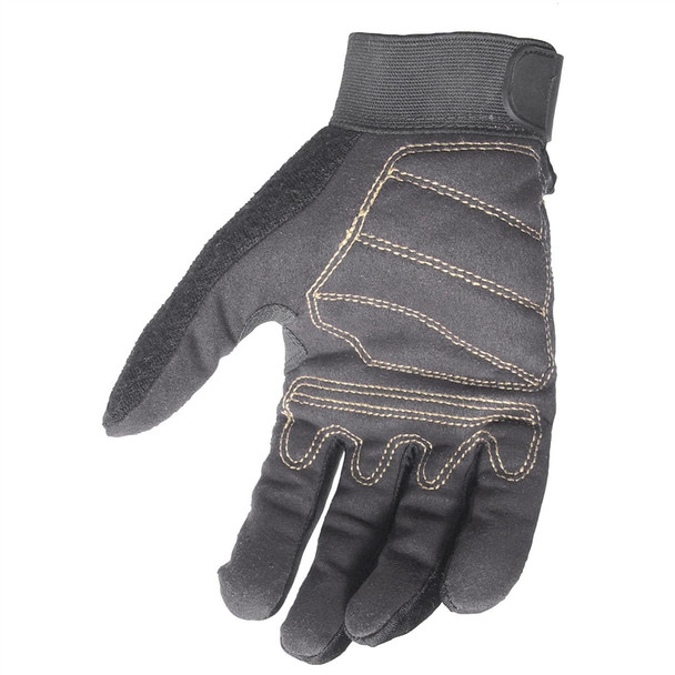 DeWALT Box of 12 Synthetic Leather Work Gloves DPG20 Palm