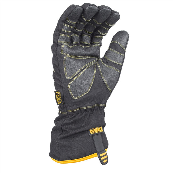 DeWALT Box of 12 Extreme Condition Insulated Cold Weather Work Gloves DPG750 Palm