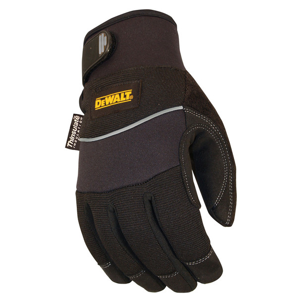 DeWALT Box of 12 Harsh Condition Insulated Work Gloves DPG755 Top