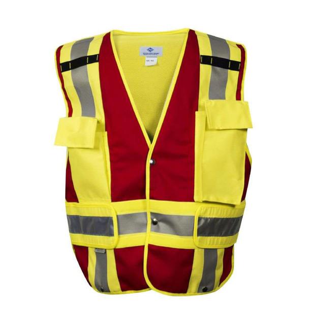 NSA Class 2 Hi Vis Pros Choice Public Safety Vest VNT8383