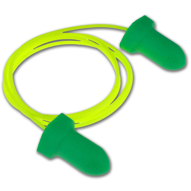 Radians Detour Wing Foam Disposable Made in USA Corded Earplugs Case 1000 FP31-1000