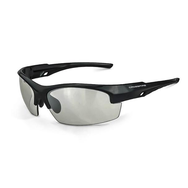 Crucible Crystal Black Frame Indoor/Outdoor Lens Glasses 40412