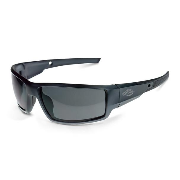 Cumulus Aluminum Gray Frame Smoke Lens Glasses 41291 Box of 12