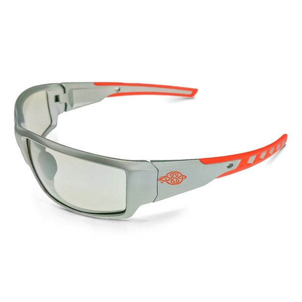 Crossfire Cumulus Silver Frame Indoor Outdoor Mirror Lens Glasses 412215 - Box of 12