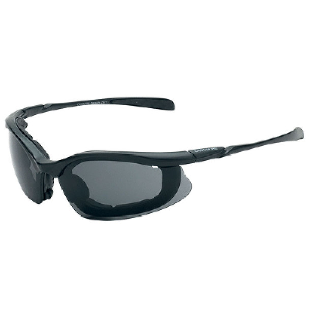 Crossfire Concept Half-Frame Foam Lined Bifocal Safety Glasses - Box of 12 Smoke Lens