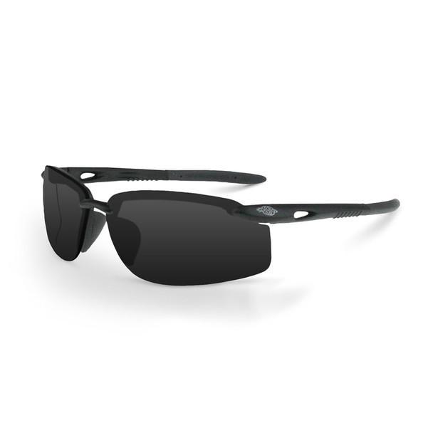 Crossfire ESW5 1241W Smoke Lens Safety Glasses - Box of 12